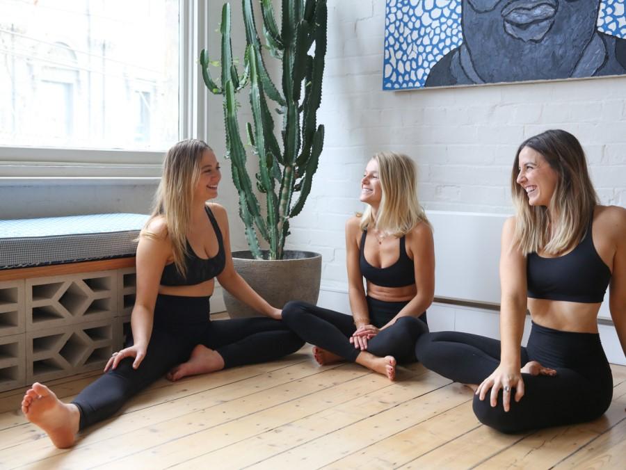 Le cours de yoga